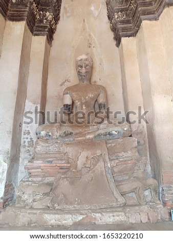 Archaeological sites, Ayutthaya, Thailand , Ancient place