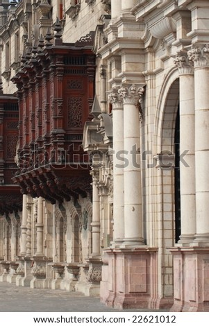 Archbishop's Palace, Lima, Peru