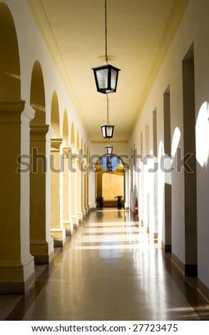 arched Hallway -  Trinidad, Cuba