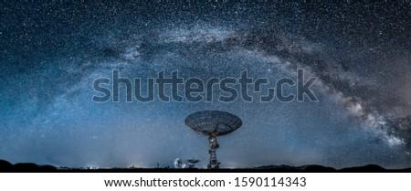 Arched Milky Way, Milky Way Bridge
