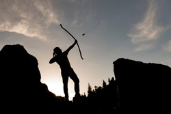 archery and arrow shooting, professional arrow shooting