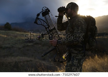Archery Hunter Stockfoto ©