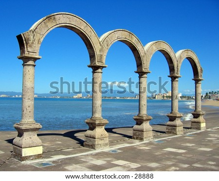 Arches in Puerto Vallarta, Mexico