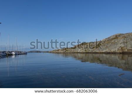 Stock Photo Archipelago in swedish west coast