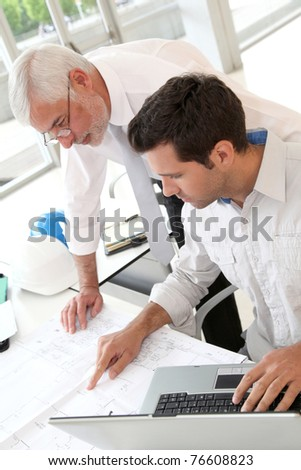 Architects working on planning