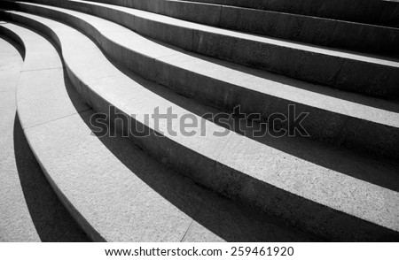 Architectural design of stairs #259461920