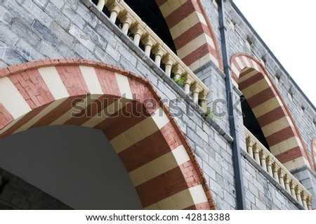 architectural detail central police station in port of spain trinidad and tobago