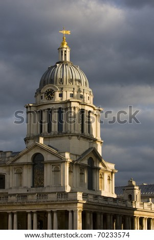 Architectural detail, Greenwich University, London.