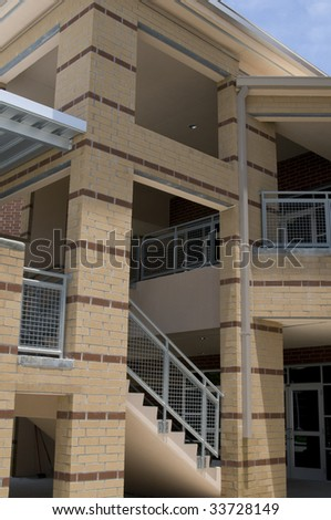 Architectural Detail of High School in Florida