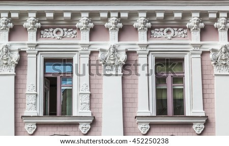 architectural details and...