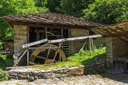 Architectural Ethnographic Complex Etar (Etara) near town of Gabrovo, Bulgaria