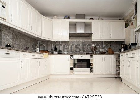 Architecture - A modern kitchen picture
