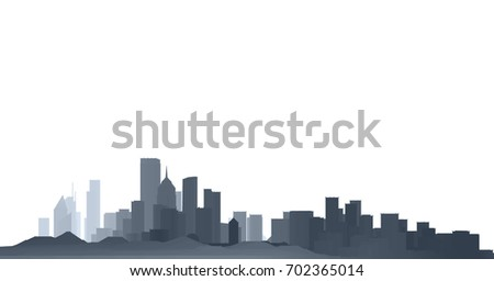 architecture abstract, 3d illustration, panorama