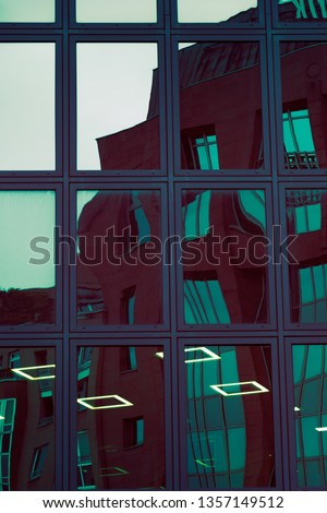 architecture abstract futuristic built structure #1357149512