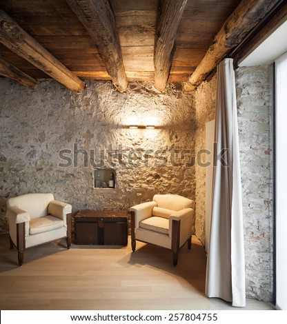 architecture  comfortable loft...