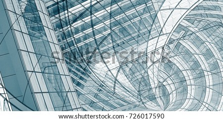 Architecture Drawing Abstract Background as an Industry Concept