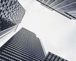 Architecture exterior Modern Building sky scraper cityscape Business Background