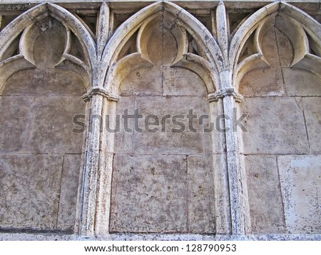 Architecture, Gothic arches.