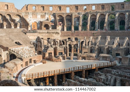 Roman Architecture Colosseum Architecture Of Ancient Rome