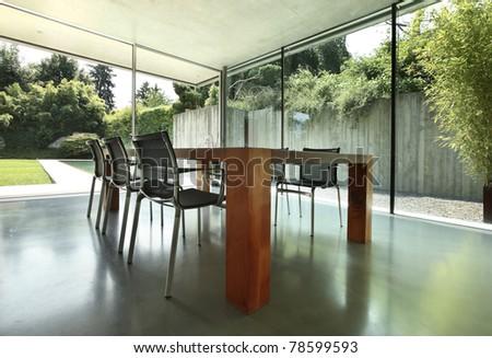 Architecture of Attilio Panzeri, Modern house interior