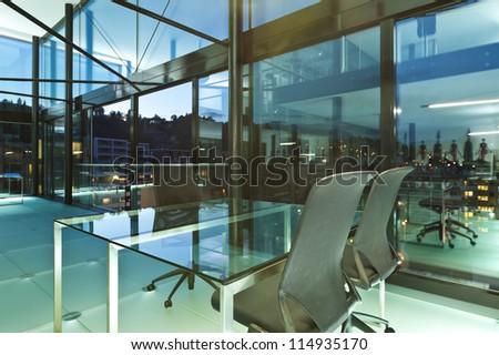 Architecture of De Angelis Mazza, interior, modern design, office