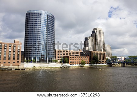 Architecture of Grand Rapids, Michigan, USA.