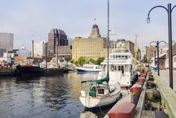 Architecture of Halifax, Nova Scotia. Halifax, Nova Scotia, Canada.