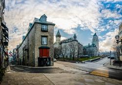 Architecture of Old Quebec - Quebec City, Canada