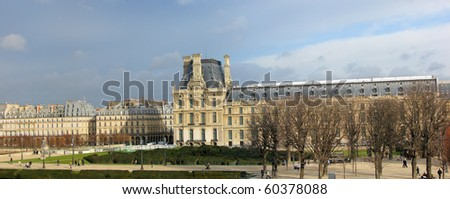 architecture of paris and park