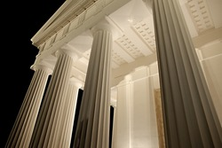 Architecture, old greek temple style