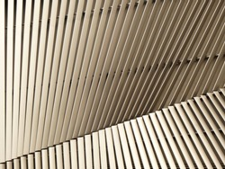 architecture wall design pattern with light and shadow