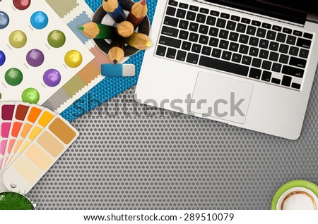 architecture workspace top view