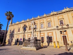 Archivo General de Indias - General Archive of the Indies in Seville, Andalusia, Spain
