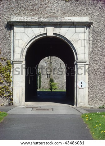 Archway at St. Patrick's College Maynooth, NUI