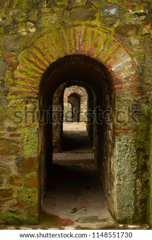 archway in an ancient fortress