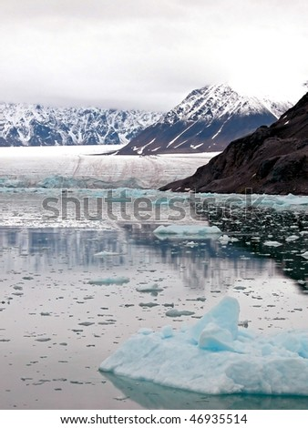 Arctic Bay, Glaciers and Mountains of Spitsbergen