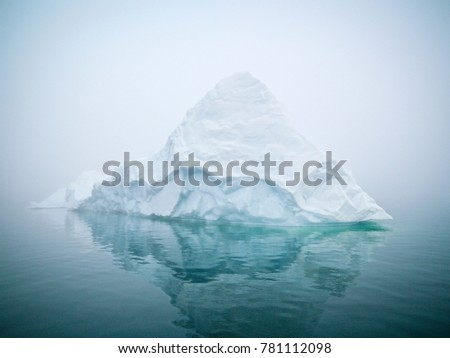 Arctic Icebergs on Arctic Ocean in Greenland #781112098