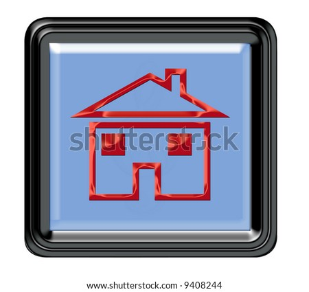 Are you lost then press here home - stock photo