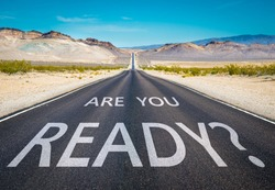 Are you ready typed on desert road