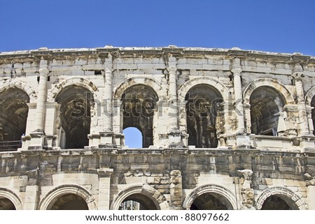 Arena in Nimes, southern France