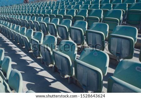 Arena seats - Telescopic seating #1528643624