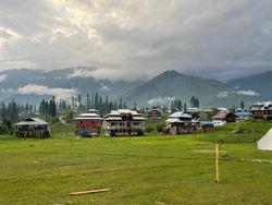 arengkail beautiful meadow in Azad jammu Kashmir