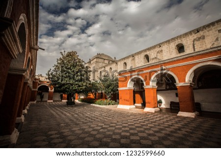 Arequipa city center, south of Peru. #1232599660