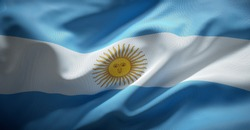 Argentina's official flag