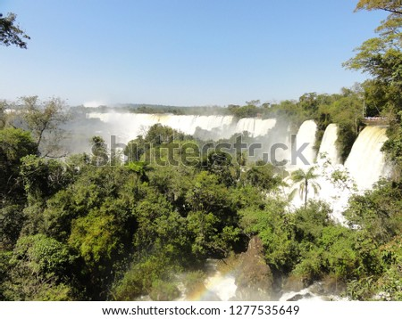 argentina water fall #1277535649