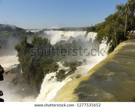 argentina water fall #1277535652