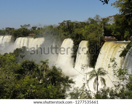 argentina water fall #1277535661