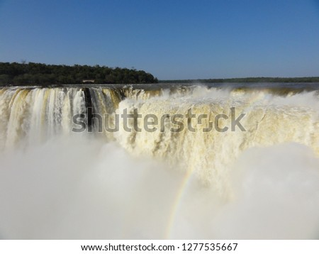 argentina water fall #1277535667
