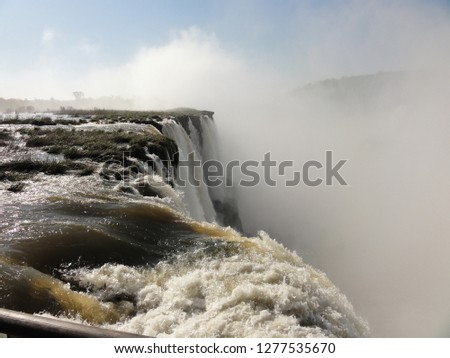 argentina water fall #1277535670