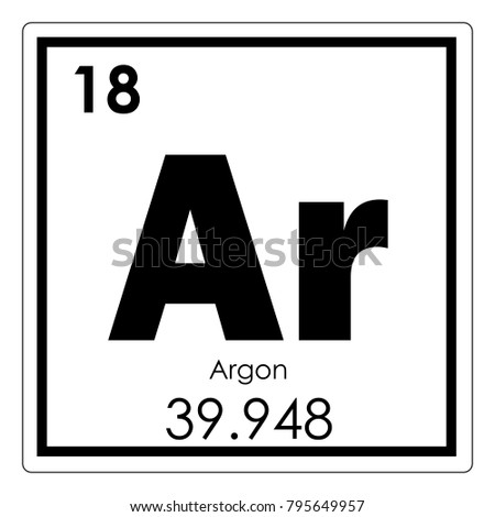 Vector Illustration Illustration Shows A Chemical Element Aluminum